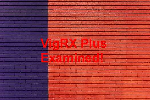 Does VigRX Plus Increase Testosterone